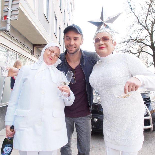 Андрій Данилко в образі Сердючки, учасник Євробачення