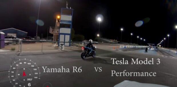 Гонка с Tesla, скриншот