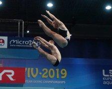 Вікторія Кесар і Станіслав Оліферчик стали чемпіонами в синхроні на 3 метрах