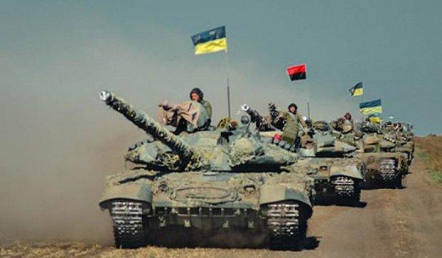 «Азов» провел обкатку и пристрелку танков (фото)