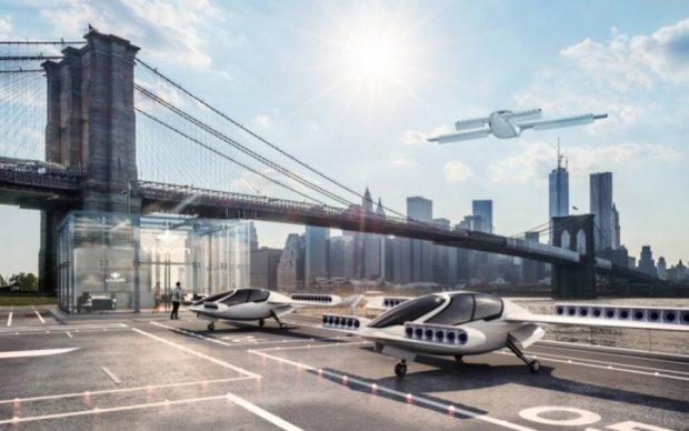 Таксі майбутнього: електро-літак з вертикальним зльотом і посадкою здійснив свій перший політ