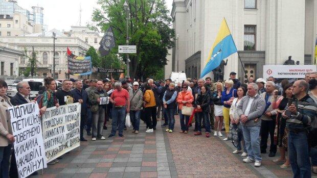 Під Радою мітингують через Зеленського: розлючені українці озвучили жорсткий ультиматум