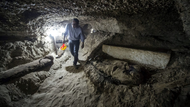 Мумия гуманоида в Египте заставила сердца археологов биться чаще: уфологи ликуют