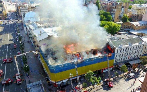 Депутат о жутком пожаре в центре Киева: город обречен