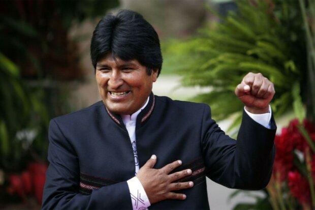 Ево Моралес, призелент Болівії, regnum