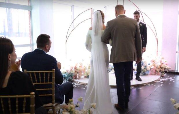 весілля, скріншот з відео