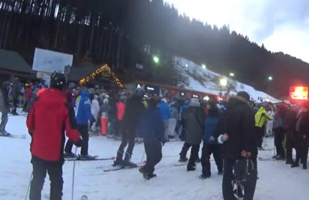 Буковель, кадр из видео