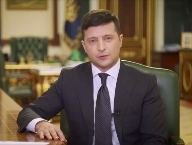 Володимир Зеленський, скрін з відео