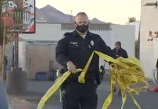 Стрілянина у Неваді, скріншот відео