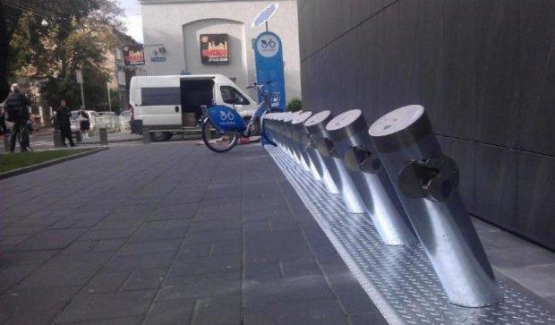 У Львові відкрили перший муніципальний велопрокат