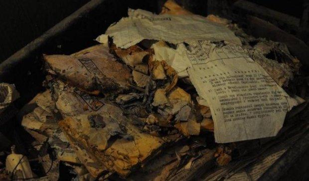 Унікальні документи ОУН знайшли в старому бідоні
