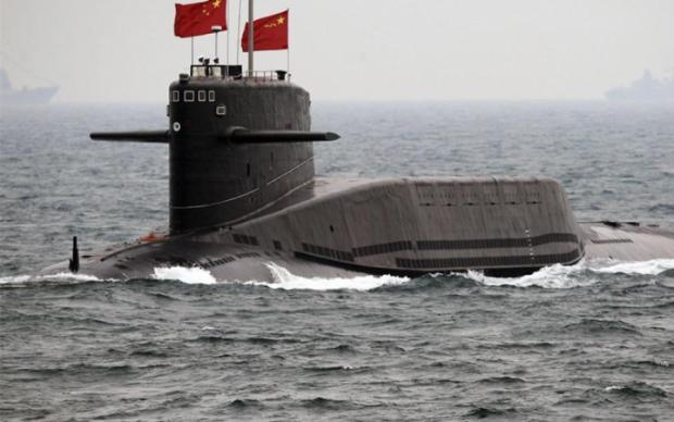 Китай показав підводний човен нового покоління