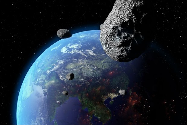Смертоносный астероид несется к Земле: названа новая дата конца света