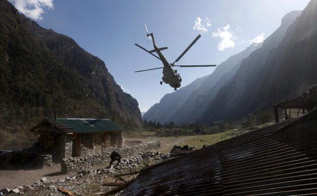 В Гималаях сильные снегопады, фото АР