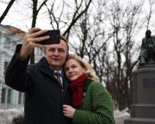 Андрей Садовый с женой, фото: Главком