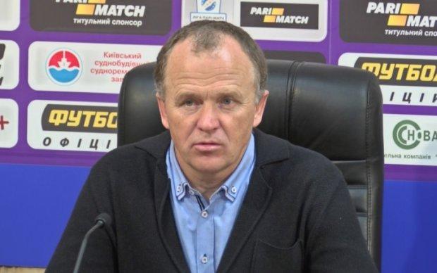 Белорусский тренер Карпат выразил восхищение Лобановским