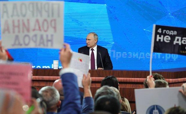 В Путина вселился Кличко: правда не в силе, сила не в правде