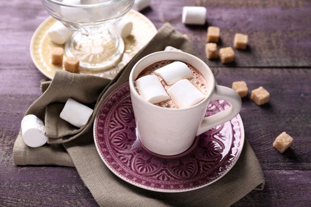 Горячее кокосовое какао: постный рецепт