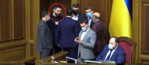 Защитные маски депутатов, фото: скриншот из видео