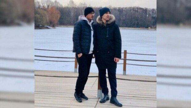 Арман та Бекзат, скрін з відео