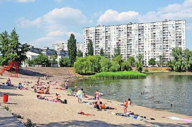 З'явився список місць Києва, де можна і не можна купатися
