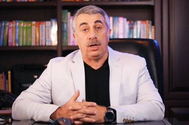 Євген Комаровський, скріншот з відео