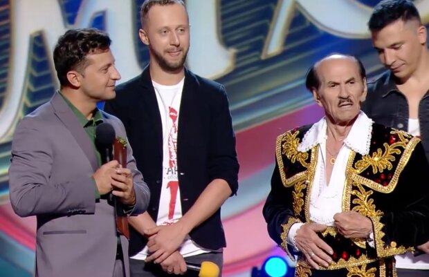 Володимир Зеленський і Григорій Чапкіс, фото: скріншот з відео