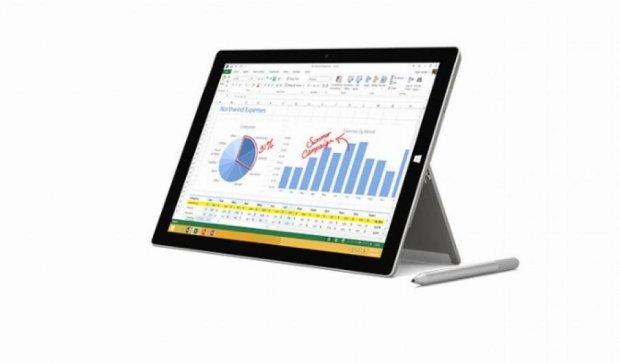 Microsoft припиняє виробництво Surface 3