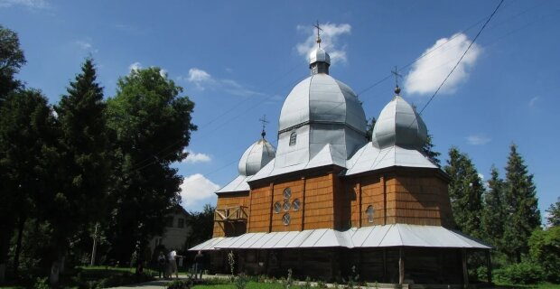 Дерев'яна Церква Собору Пресвятої Богородиці, фото: Богдан Волошин