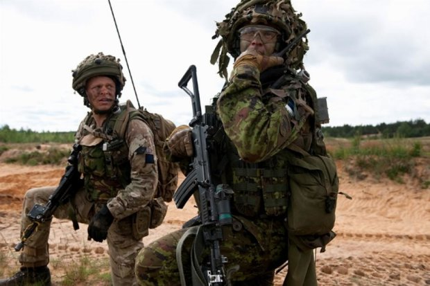 В Латвии говорят о гибридной войне с Россией