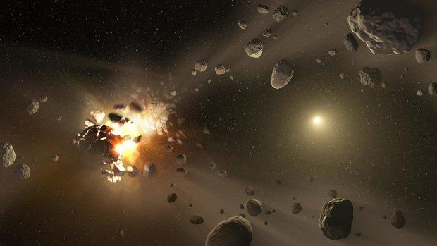 Разрушение астероида оказалось невозможным: гравитация соединит обломки
