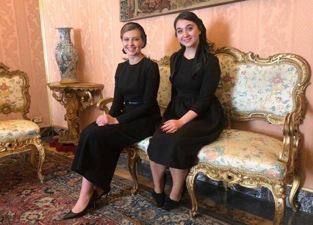 Юлія Мендель знайшла чим зайнятися з Оленою Зеленською перед зустріччю з Папою Римським