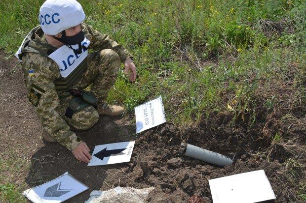 Оккупанты ударили ракетой на Донбассе, фото: ООС / Facebook