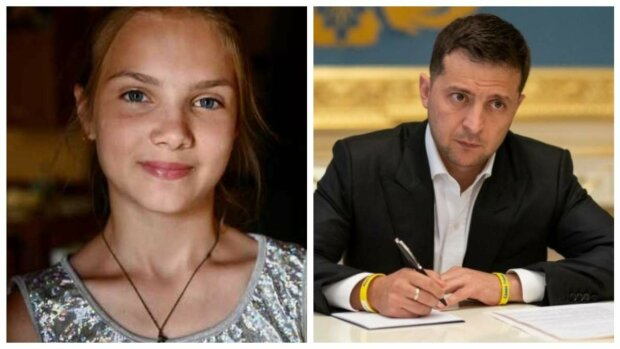 Владимир Зеленский и Татьяна Тулайдан, фото с сайта президента