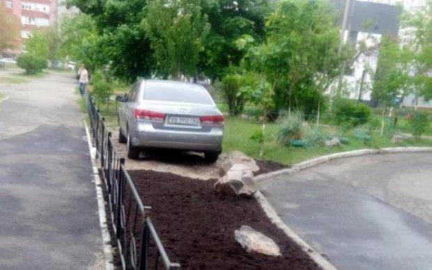 Киевляне оригинально отомстили за хамскую парковку