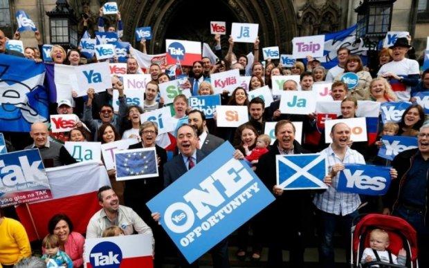 Шотландия задумала новый референдум на фоне Brexit