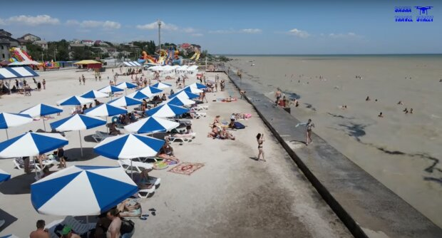 Пляжи Геническа, фото: скриншот из видео