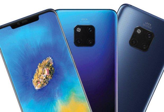 Huawei Mate 20: у мережі назвали головні фішки вбивці iPhone