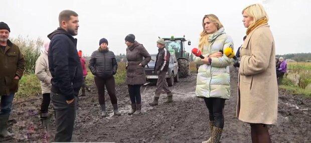 Аграрії в Рівному, фото: скріншот з відео