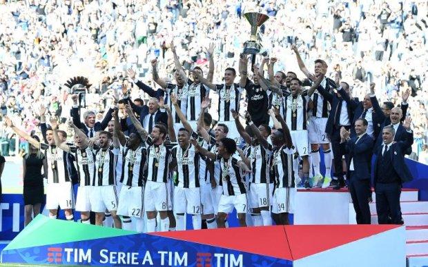 Чемпіонат Італії: Підсумкова турнірна таблиця
