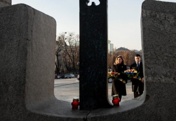 Елена и Владимир Зеленские, Пресс-служба ОП