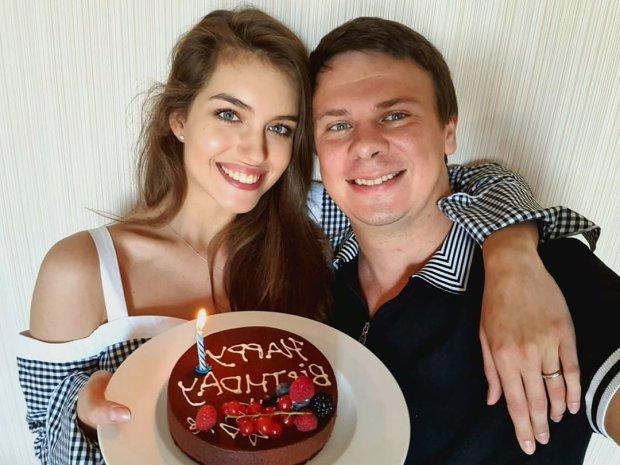 Дмитрий Комаров и Александра Кучеренко