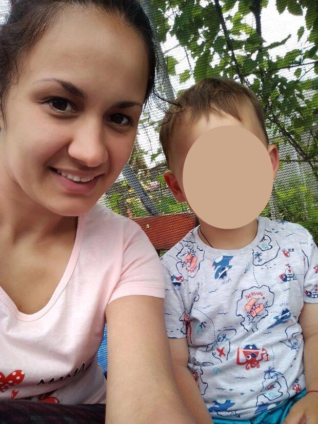 Оксана з сином, фото: obozrevatel.com