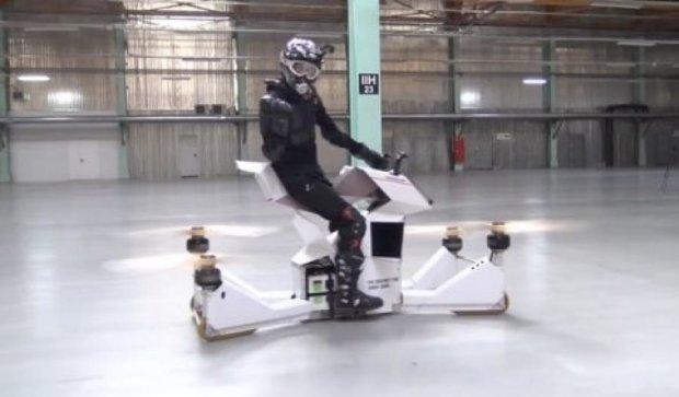 Hoversurf представила прототип летающего мотоцикла