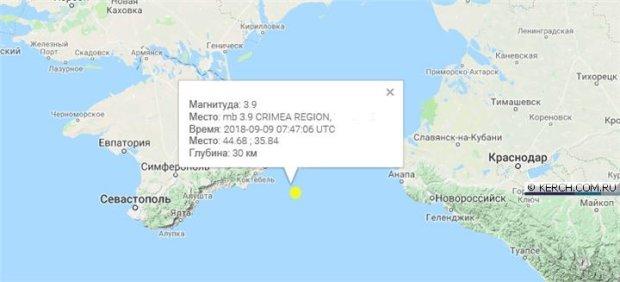 Землетрясение в Крыму: в зоне бедствия Ялта, Коктебель и Анапа