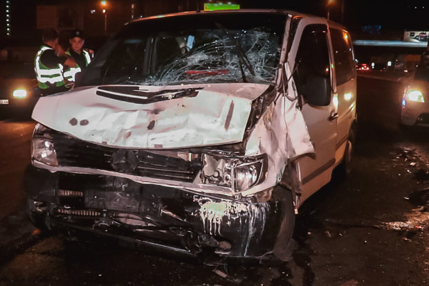 Пьяный водитель убил беременную женщину в Киеве: видео