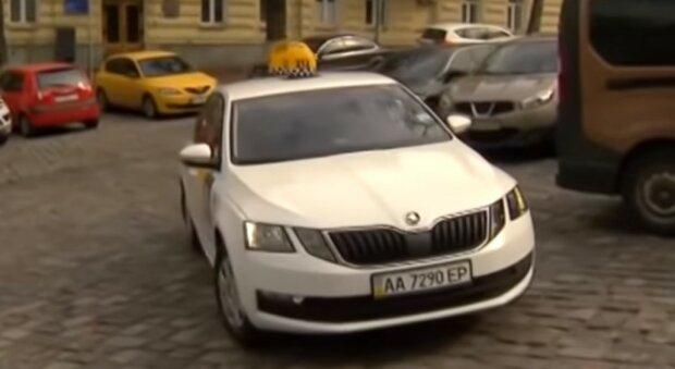 таксі, скріншот з відео