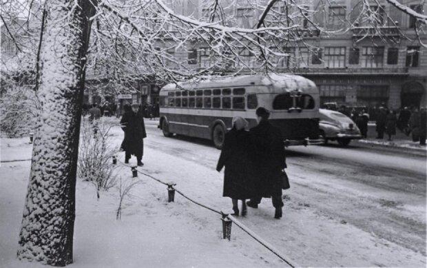 Зимовий Львів 1960 року, фото: lviv.in.ua