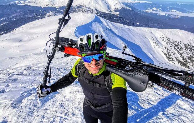 Роман Шутка, фото: Facebook Ассоциация велосипедистов Ивано-Франковска