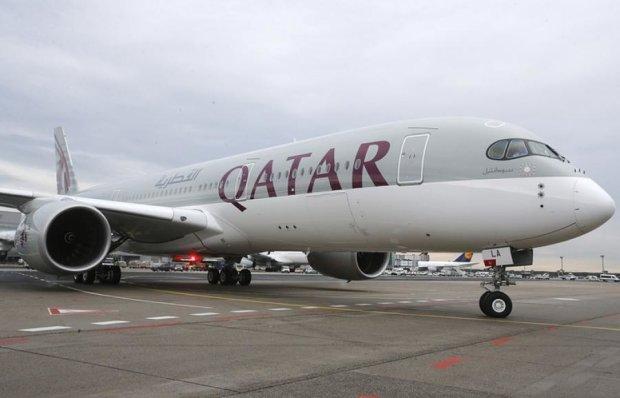 Самолет Qatar Airways завершил исторический перелет
